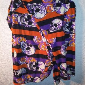 Lularoe TC2 Skull Leggings